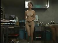 Japanese video Naked landlady 1