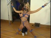 Incredible Stacy Burke performing in BDSM video