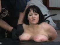 Bonny experienced lady acting in amazing BDSM porn