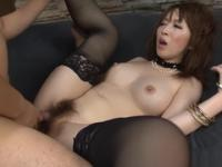 Heavenly Japanese Sayaka Tsuzi performing in amazing creampie porn video