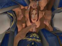 Animated gangbang in World of Warcraft