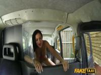 Fucking an incredible MILF  in the cab