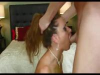 Spectacular MILF sucks it wildly
