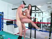 Seducing brunette MILF Kendra Lust in amazing sport XXX video