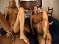 Thin sex video featuring Cynthia Vellons, Christina Lee and Renato