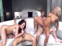 Pornstar sex video featuring Keiran Lee, Alektra Blue and Michael Vegas