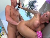 Incredible platinum student Juelz Ventura in wild hardcore drilling