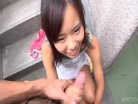 Supreme flat chested Japanese teen gal featuring beautiful fetish sex video in public place