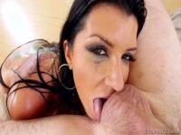 Sugar breasty student Romi Rain is making dude cum