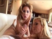 Hardcore sex video featuring Aubrey Addams and Shyla Stylez