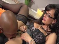 Spicy breasty ebony Lisa Ann had a assfuck
