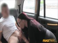 Classy breasty experienced lady Emma Butt in blowjob video