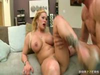 Blonde sex video featuring Jordan Ash and Shyla Stylez