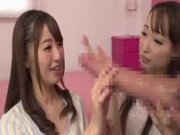 Asian sex video featuring Saki Hatsumi and Kurea Hasumi