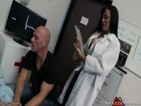 Supreme buxomy Savannah Stern in hot medical porn