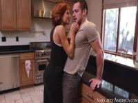 Heavenly shaved Veronica Avluv giving a hot handjob