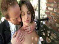 Beautiful flat chested youthful girl Kimmy Granger having an an amazing hardcore sex