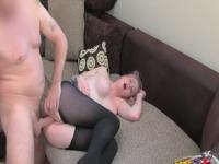 Marvelous buxomy girl in cumshot XXX scene