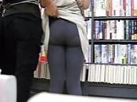 Library Butt Grab