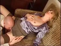 Russian MILF And Young Boss