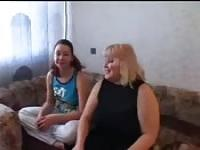 Anal family threesome