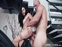 Classy stay at home MILF fucking