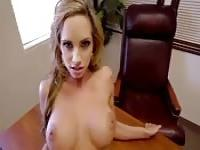 Gorgeous teacher getting riding