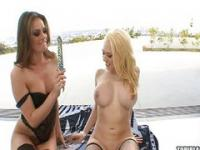 Tori Black and Kagney know how to have fun