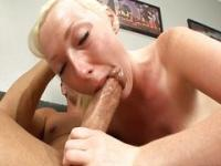 Tegan Riley deepthroating