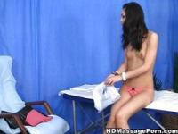 Skinny Vixen enjoys her clit massage