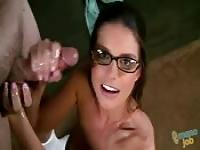 Brooklyn Chase, wonderful at jerking off