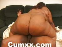Big Black Ass Chick Squeezed And Fucked