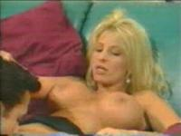 Nikki Taylor enjoying stud's tongue