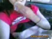 Syrian Babe Sucking Cock In Car-Arabic-ASW049