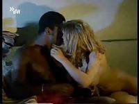 Blonde white girl cheats with black guy - Softcore Interracial