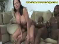 White Cougar Black Facial