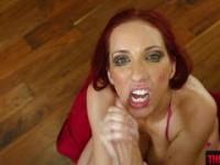 Dick addict slut Kelly Divine deepthroat