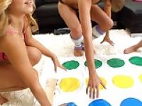 A game of Twister.