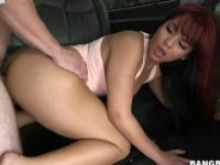 Rose Monroe fucks a stranger in the BangBus