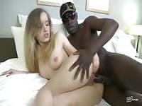A slut willing to be fucked in the ass by a black guy
