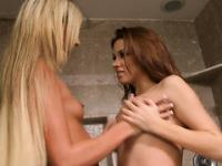 Sweet College Lesbians Play Hard