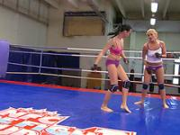 Nude Fight Club presents Becky Stevens vs Barbie Black