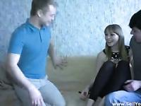 Lewd boyfriend lets her girl fuck other guys