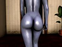 Test d'Animation sexy Liara