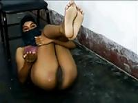 young muslima show me cunt & body on skype
