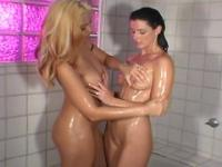 India Summer - Lesbian Bathroom Scene