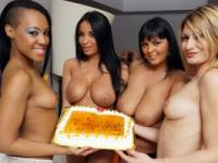 Groupsex action with Anissa Kate and Jasmine Black's friends