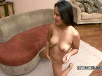 Asian hottie Lana Violet gets her teen twat pounded