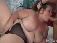 Fat  Avery Rose gets fucked good