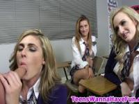 Real teen girls sucking cock